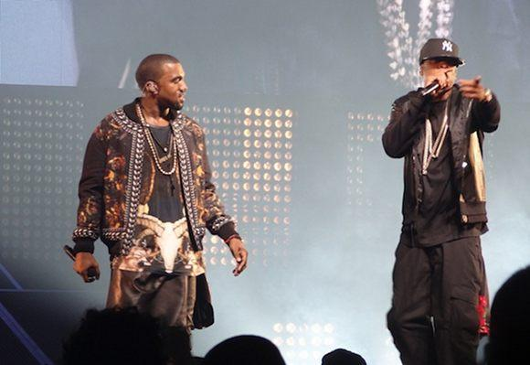 Out and About: Jay-Z and Kanye West
