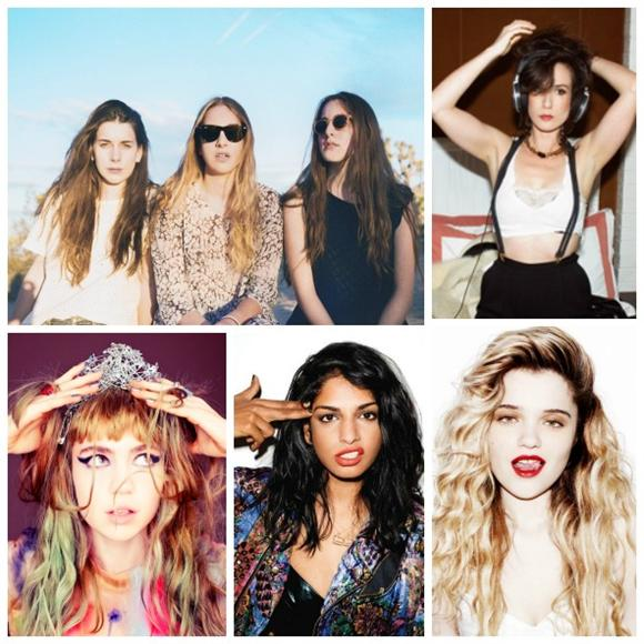 Today's Top 10 Female-Fronted Acts