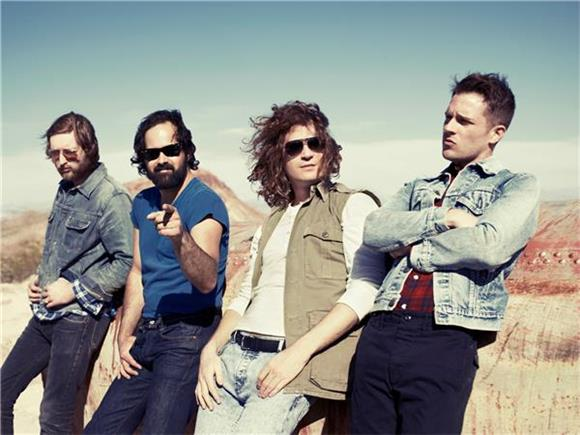 The Killers go 'Dirt Sledding'