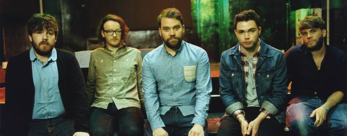 Frightened Rabbit Recite 'Pedestrian Verse' at Brooklyn Library