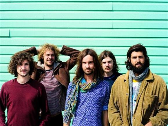 Tame Impala Trip Out In Front Of Geodesic Dome