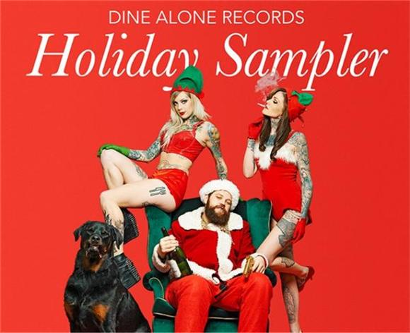 Download Dine Alone Records' Free Holiday Sampler, Win a Prize Pack