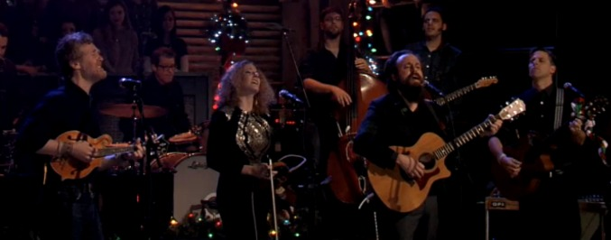 Iron and Wine, Glen Hansard, and Kathleen Edwards Cover The Pogues 'Fairytale of New York'
