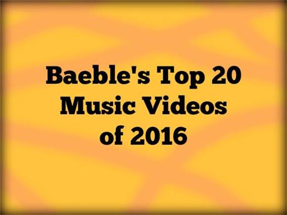 The Top 20 Music Videos of 2016