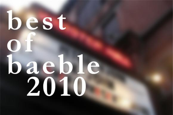 last call: best of baeble 2010
