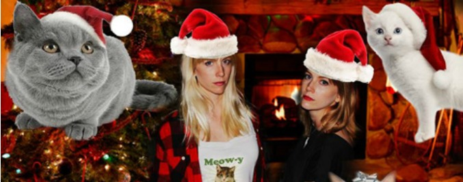 Single Serving Of Holiday Cheer: The Muscadettes 'Christmas Kitty'