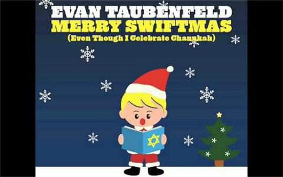 Flashback Friday: Evan Taubenfeld Merry Swiftmas