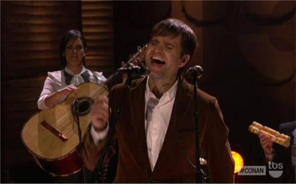 Ben Gibbard and a Mariachi Band on Conan