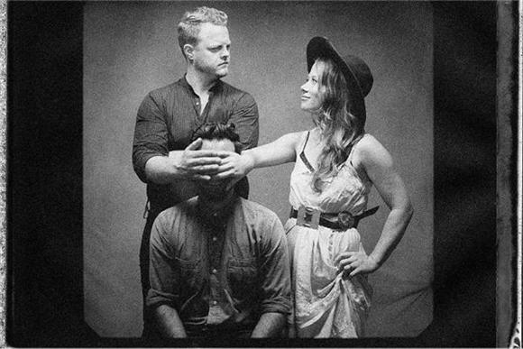 Now Playing: A Busking Session With The Lone Bellow
