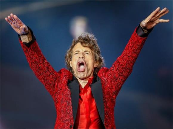 Mick Jagger Can't Stop Won't Stop Having Kids, Welcomes Eighth at 73