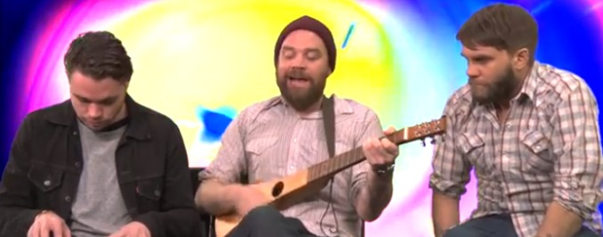 Frightened Rabbit Performed 'Holy' with Unorthodox Instruments on 'Worst Gig Ever'