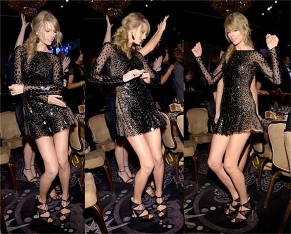A Break Down Of Taylor Swift's Awkward Dancing