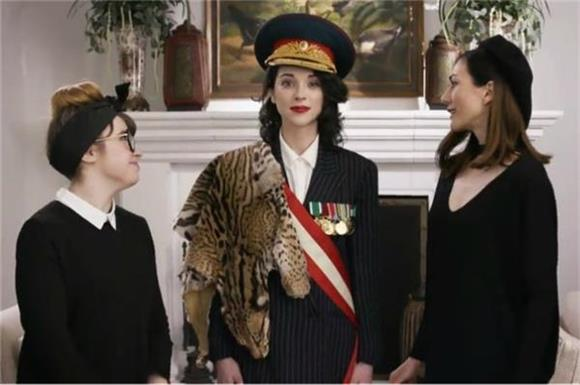 St. Vincent Becomes a Russian Diplomat in New Promo Video as Record Store Day Ambassador