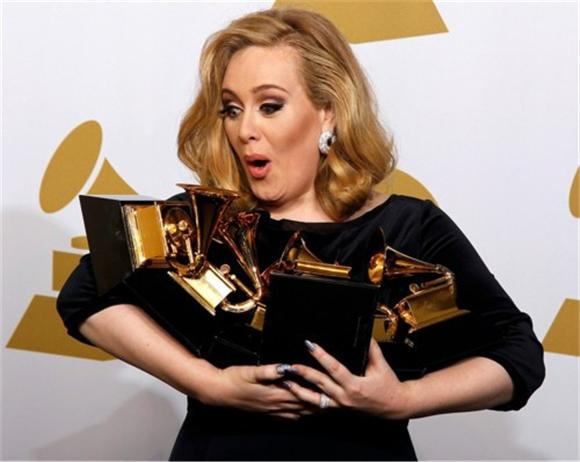 The 54th Annual Grammy Awards: Adele and Bon Iver