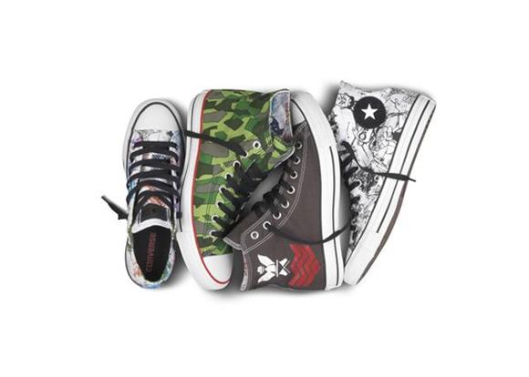 The Hookup: Gorillaz-Themed Chuck Taylors