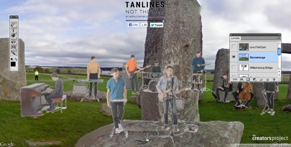 Awesome of the Day: Tanlines Interactive Music Video