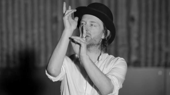fun of the day: thom yorke thinks he can dance