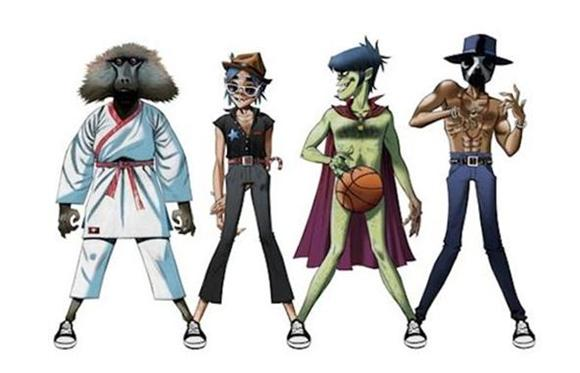 Stream: Gorillaz, Andre 3000 and James Murphy