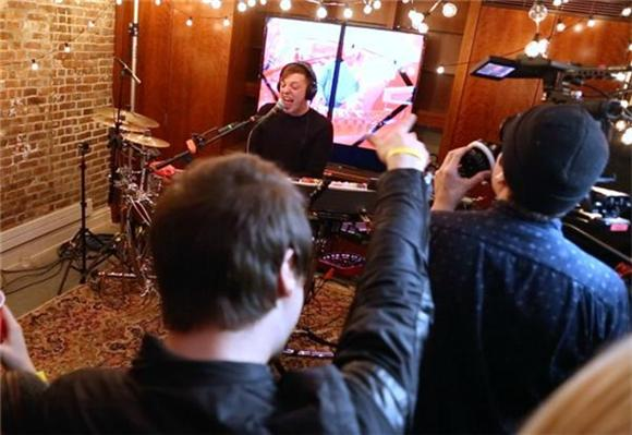 Now Playing: Robert DeLong Serves Up A Little Electronic Hocus Pocus In Session