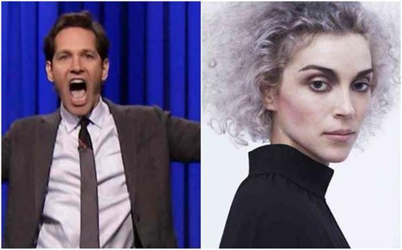 Last Night's Late Night Lineup: Kanye West, St. Vincent, and Paul Rudd