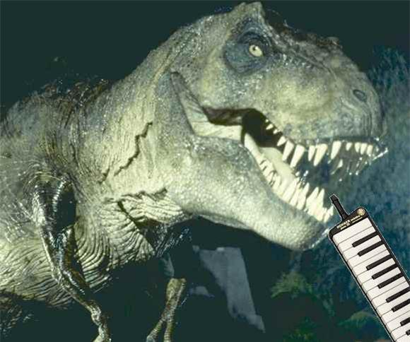 Cover of the Day: Jurassic Park On Melodica