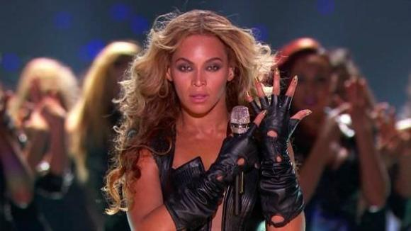 Leather, Lace, and Legs: Watch Beyonce's SB47 Show
