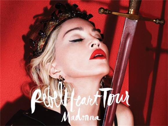 Madonna Brings Out Rarity On Rebel Heart Tour