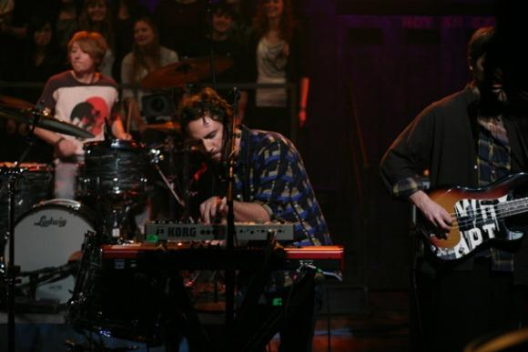 Local Natives Lull 'Heavy Feet' Hypnosis on Fallon
