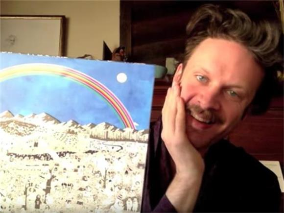 Father John Misty's Deluxe Vinyl Unboxing is Pure Comedy