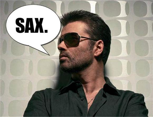 fun of the day: george michael sexy sax