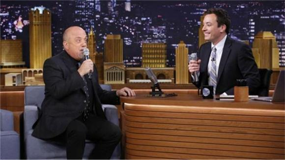 Jimmy Fallon and Billy Joel Doo Wop With An iPad