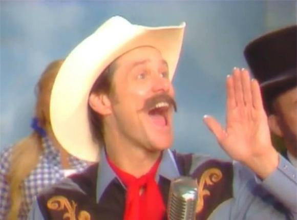 Jim Carrey Stirs Gun Crowd With Musical Spoof
