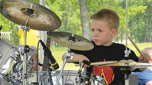 This Kid's Cooler Than Yours: 6-Year-Old Drum Phenom