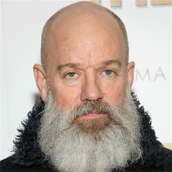 REM's Michael Stipe Is Bearded And Doing His Best Bowie