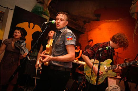 live in haiti: arcade fire