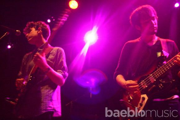 out and about: beach fossils/the drums