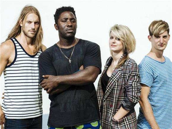 Bloc Party Blend Sex Appeal and Body Horror