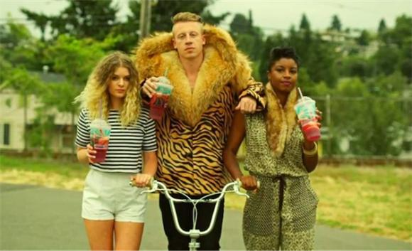 Music Videos Without Music: Macklemore 'Thrift Shop'
