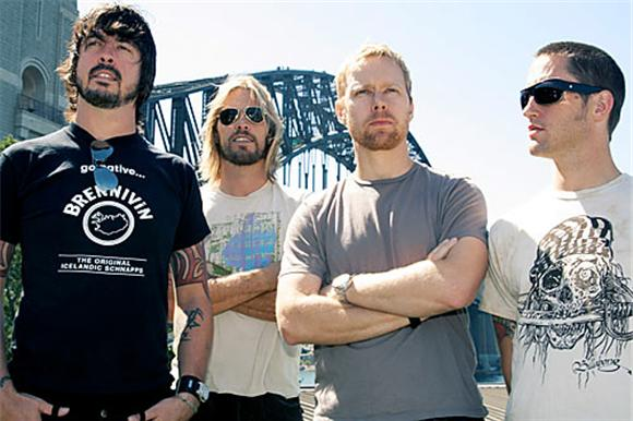 watch: foo fighters perform in a garage