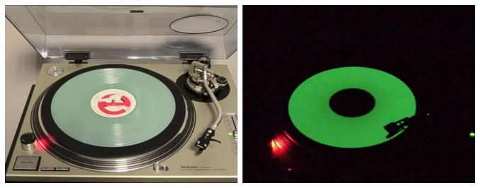 The Ghostbusters Glow-In-the-Dark Record Store Day Special