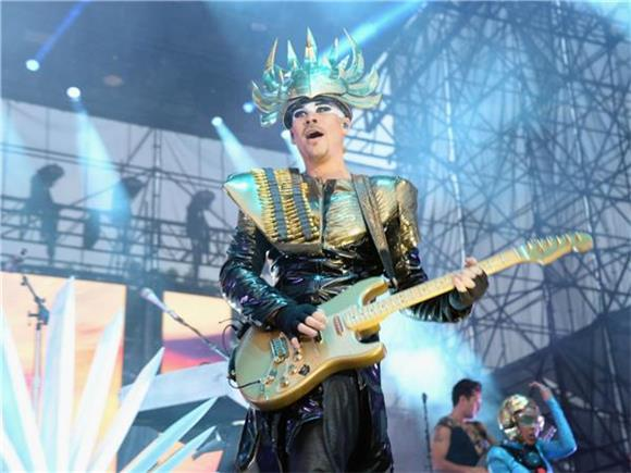 Empire of the Sun Rule the Roost on Ellen