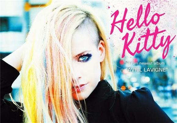 Avril Lavigne's 'Hello Kitty' Ain't So Pretty