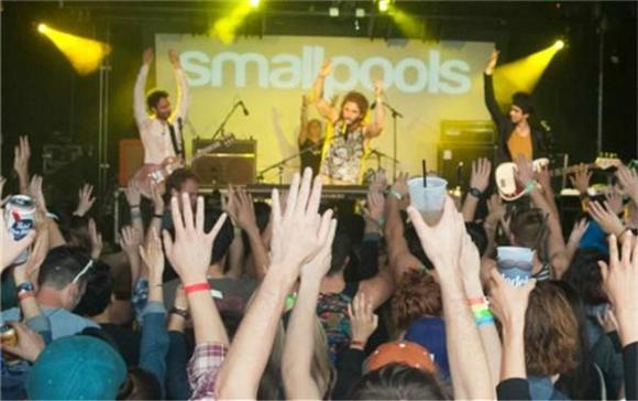 Now Playing: Smallpools Get Ecstatic In Austin