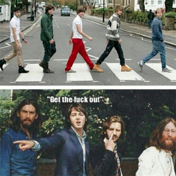 GTFO of the Day: The Beatles and One Direction