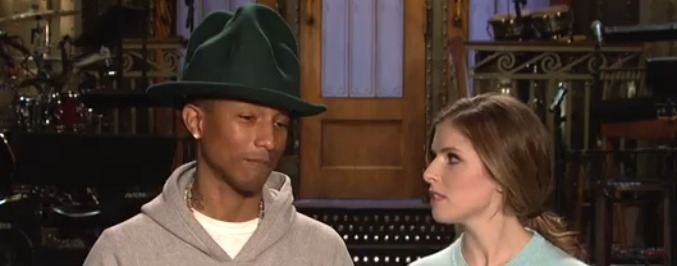 Will Arby's Be Mad About Pharrell and Anna Kendrick's SNL Promos?