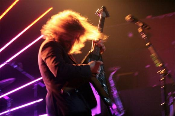 Out and About: Jim James Beguiles at Webster Hall