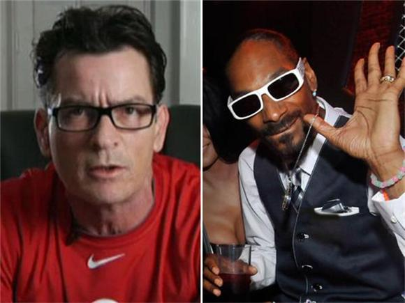 weird of the day: snoop dogg and charlie sheen collaboration
