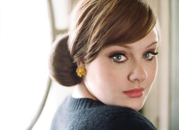 adele breaks album records