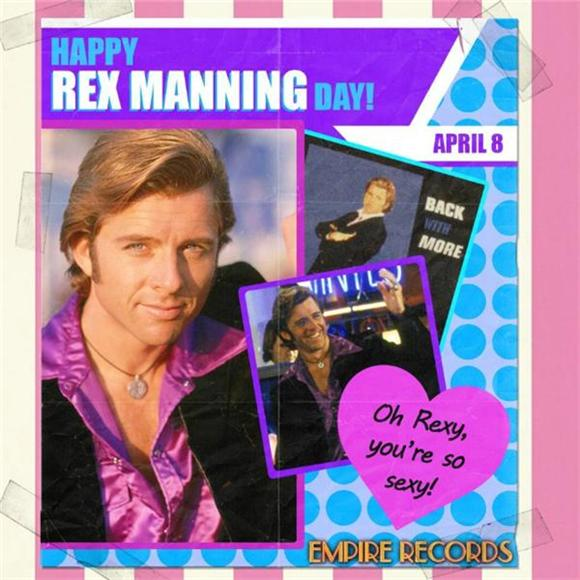 We Mustn't Dwell, We Can't, Not on Rex Manning Day!