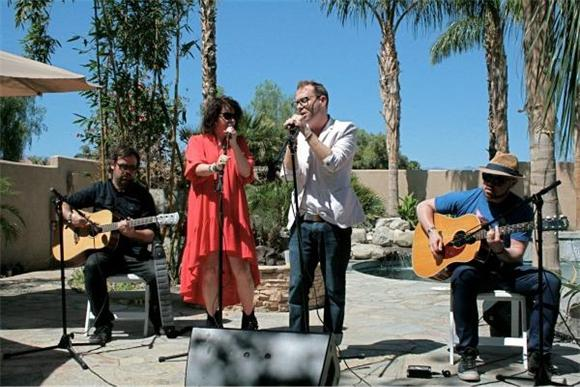 Watch Stars Belt Out 'The North' in our Southwest Cabana